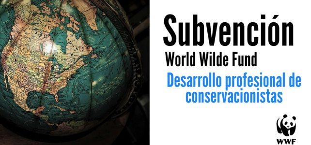 Subvenciones de la WWF para el desarrollo profesional de conservacionistas