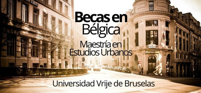 Becas para maestrías en Bruselas