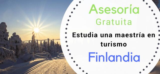 Asesoramiento maestría en turismo en Finlandia