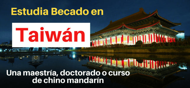 Becas de idiomas y posgrado en China