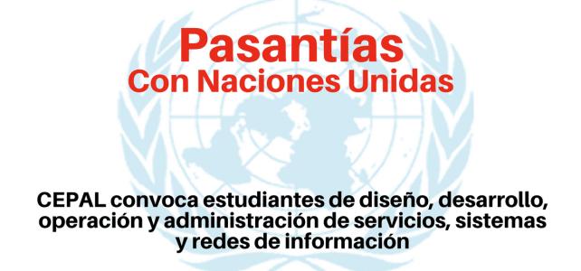 Pasantías con Naciones Unidas con la CEPAL