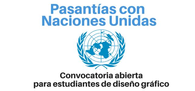 Naciones Unidas busca estudiantes de diseño gráfico