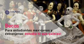 Estudia lo que deseas ! Becas de posgrado en México para mexicanos y extranjeros.