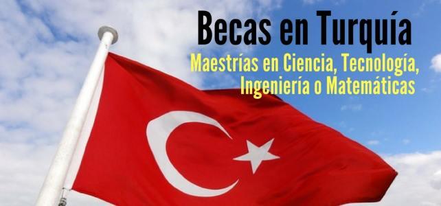 Becas en Turquía para maestrías