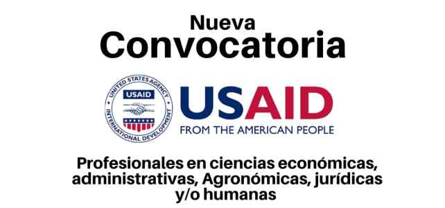Vacantes con USAID