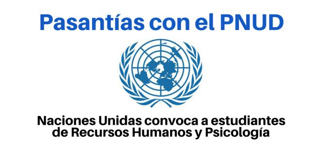 Pasantías con Naciones Unidas para profesionales en Psicología