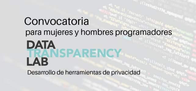 Convocatoria de programación – financia tu proyecto