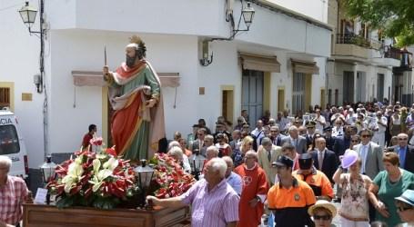 San Bartolomé de Tirajana rindió tributo a su patrón a 38º a la sombra