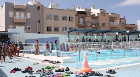 San Bartolomé de Tirajana clausura los cursos veraniegos de natación
