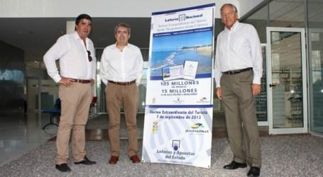 Loterías del Estado amplía la promoción del Sorteo del Turista en Maspalomas