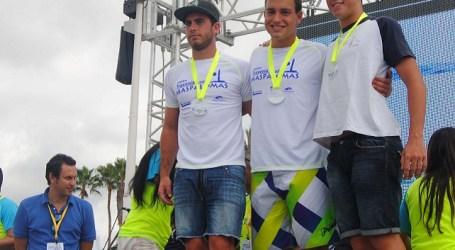 Nadadores del CN Las Palmas acaparan el pódium de la Maspalomas-Canaragua
