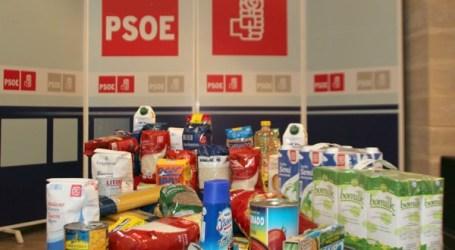 El PSC-PSOE de Santa Lucía de Tirajana entregará 200 kilos de alimentos a Cruz Roja