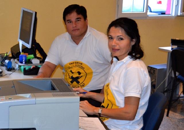 Isabel Santiago (NC) y Mencey Navarro (Ciuca)