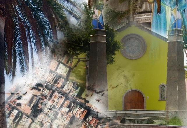 Fiestas de San Rafael, en Vecindario (cartel 2012)