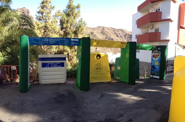 """""""Contenedores que hablan"""", campaña de Medio Ambiente del Cabildo de Gran Canaria"""