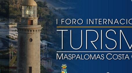 Paulino Rivero inaugura la 2ª jornada del Foro Internacional de Turismo de Maspalomas