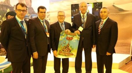 Maspalomas y el Cabildo promocionan la marca Gran Canaria en Fitur 2014