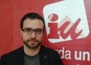 Echedey Morales (foto), coordinador de IUC de Las Palmas de Gran Canaria
