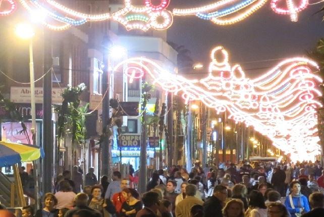 Navidad en la ZCA de la Avenida de Canarias, en Vecindario (Santa Lucía de Tirajana)
