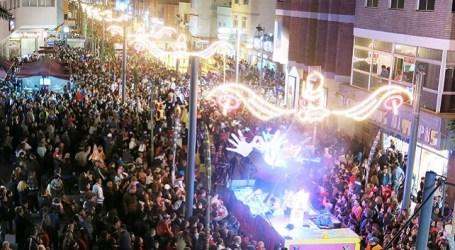 Más de 80.000 personas se dieron cita en Santa Lucía durante 4 días de la campaña de Navidad