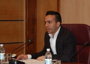 Maicol Santana, portavoz del PP en el Ayuntamiento de Mogán