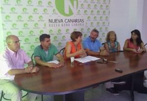 Grupo político de NC en el Ayuntamiento de San Bartolomé de Tirajana