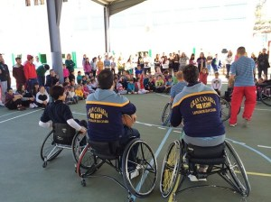 Taller de baloncesto en silla de ruedas