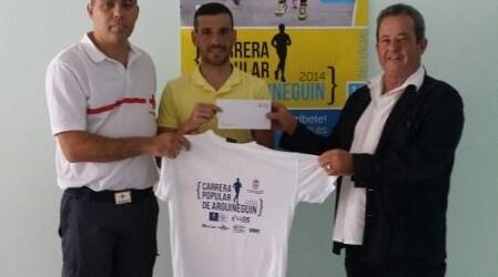 La Carrera Popular de Arguineguín recauda 1.126 euros para ayudas sociales