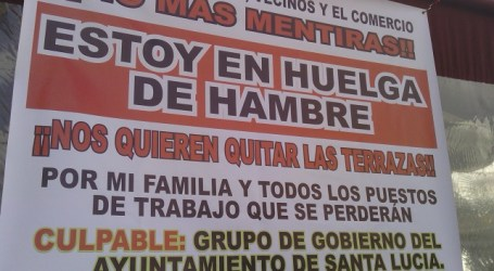 El PP insta a la alcaldesa a detener la huelga de hambre del empresario de Vecindario
