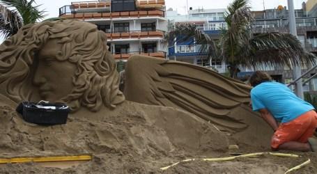 La Universidad de Verano de Maspalomas ofrece un Taller de esculturas en la arena