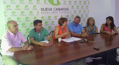 """NC denuncia la """"vergonzosa"""" situación del Parque Europeo, en Playa del Inglés"""