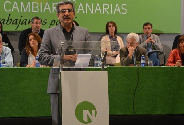 Román Rodríguez, presidente de NC
