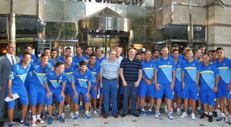 La UD Las Palmas se prepara para la pretemporada en Maspalomas