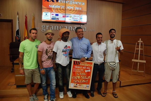 El alcalde de Mogán presenta el 25 Encuentro de Veneguera