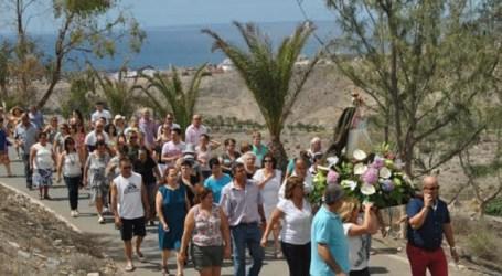 Lomo Galeón celebra sus fiestas del Pilar con activa participación vecinal