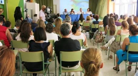 La alcaldesa de Santa Lucía inaugura el curso escolar con una fuerte defensa de la FP