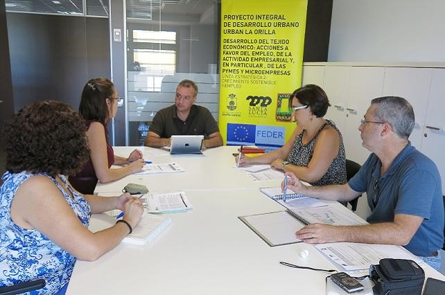 Urban Genera, reunión de la coordinadora