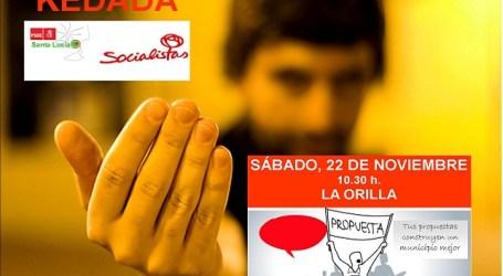 Nueva 'kedada' de los socialistas santaluceños, esta vez en La Orilla