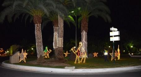 San Bartolomé de Tirajana invierte 10.000 euros en alumbrado navideño