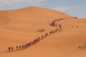 Marathon des Sables 2014 (Photo credit should read Pierre Verdy /AFP/Getty Images)