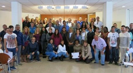Trabajadores del Plan de Empleo de Santa Lucía también mejoran su formación