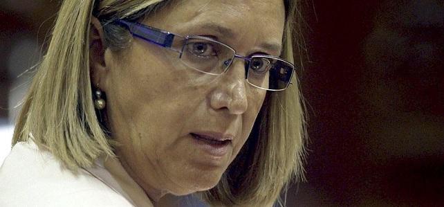 Mercedes Roldós, candidata a la Presidencia del Cabildo de Gran Canaria