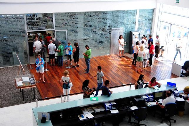 El PP-AV convirtió la biblioteca de Maspalomas en sus oficinas municipales