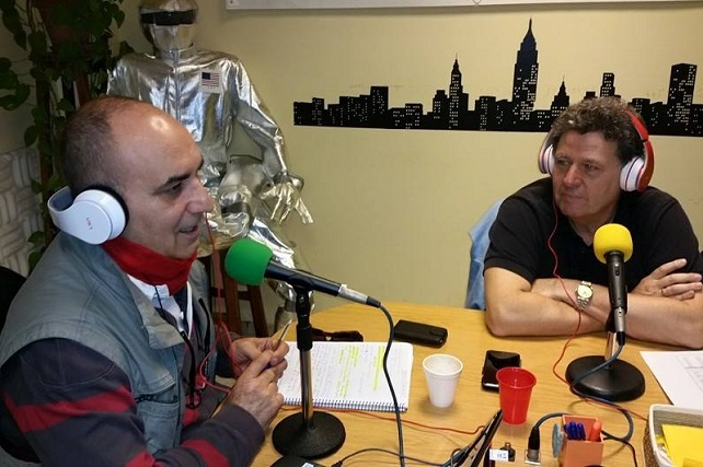 Paco Pahino entrevista al ingeniero jefe del equipo redactor del PGO de Mogán, Francisco González Jaraba