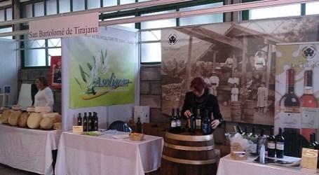 Quesos y vinos de Tirajana en la IV Feria de Productos de la Tierra