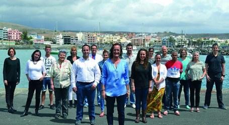 El PSOE de Mogán presenta su candidatura en el CC La Marea de Arguineguín