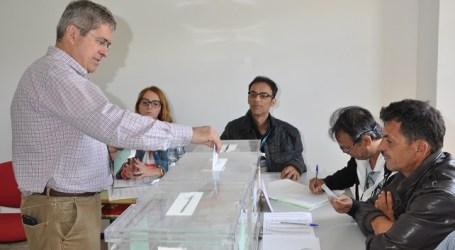 El candidato Marco Aurelio Pérez coincidió con Francisco Araña del Toro en Tunte