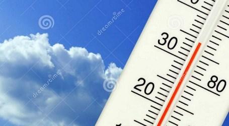 Alerta naranja por altas temperaturas con máximas que pueden superar los 34 grados