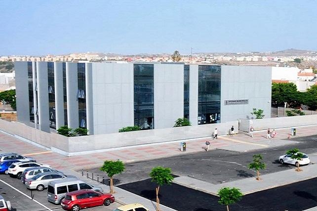 Oficinas municipales del Ayuntamiento en Maspalomas