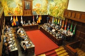 Antonio Morales y 21 alcaldes de Gran Canaria